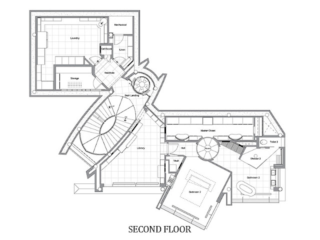 second floor plans
