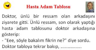Hasta Adam Tablosu