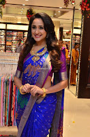 Pragya Jaiswal in colorful Saree looks stunning at inauguration of South India Shopping Mall at Madinaguda ~  Exclusive Celebrities Galleries 013.jpg