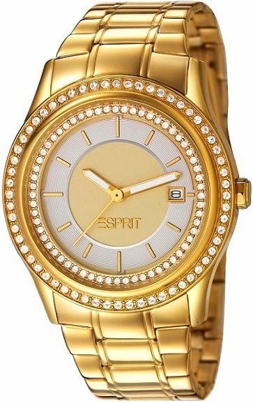 Esprit Double Twinkle Gold Watch: Price INR 9,495