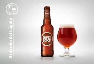 Super Bock Abadía, cerveza de Portugal.