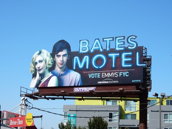 Bates Motel Emmy 2015 extension billboard