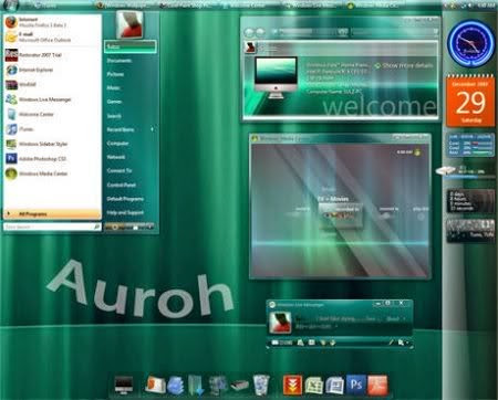 Auroh The Final Release Vista Theme