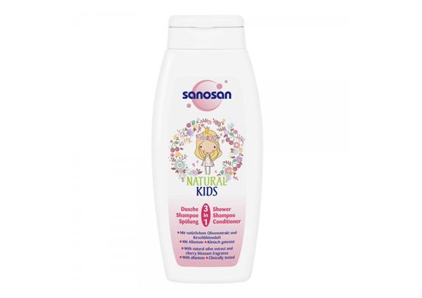 Sanosan Natural Kids 3-in-1 Shower And Shampoo