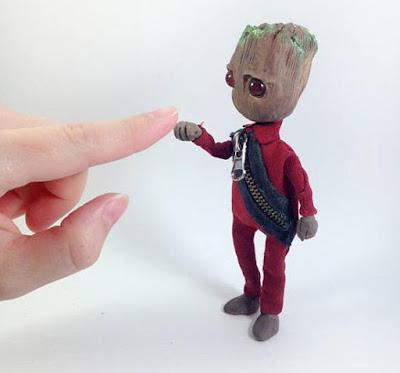 Baby Groot Doll