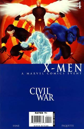 Civil War: X-Men #4 PDF