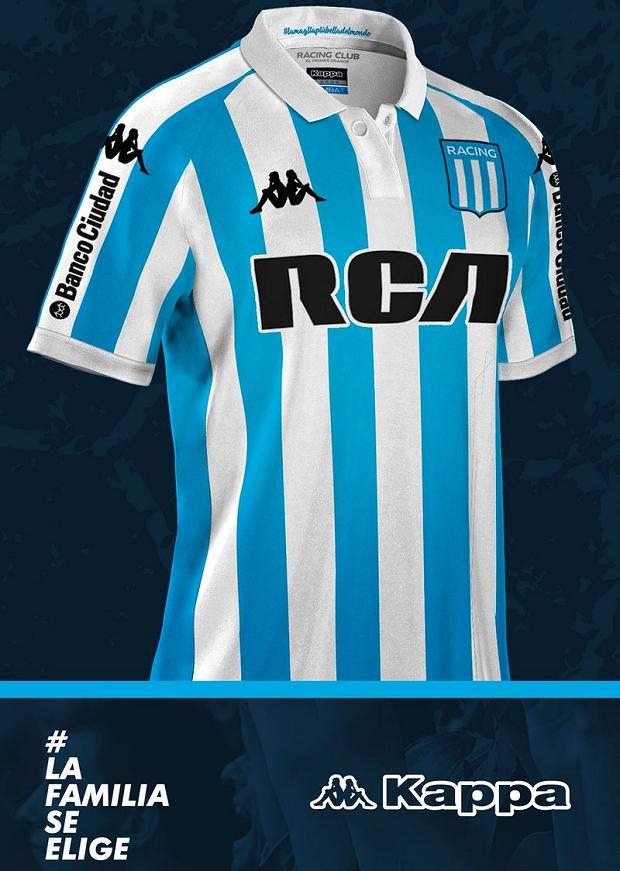 306843773b Kappa sorteará uma camisa para cada gol do Racing sobre o Vasco da Gama