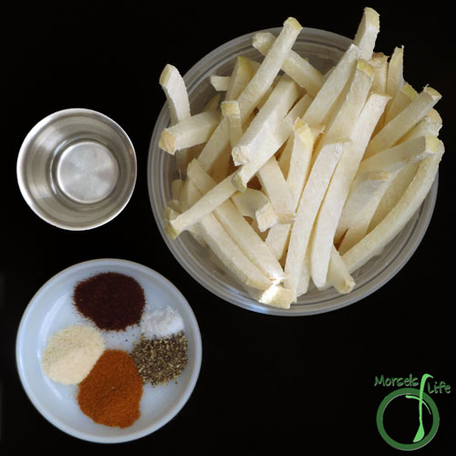 Morsels of Life - Chipotle Jicama Fries Step 1 - Gather all materials.