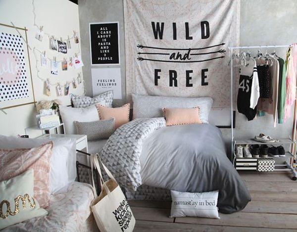 Desain Kamar Tidur Minimalis Remaja Perempuan