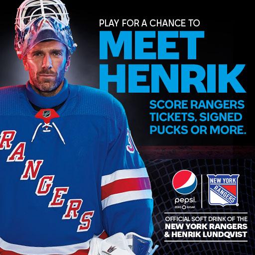 The Henrik Lundqvist Blog Enter The Pepsi Stop Everything Contest