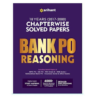 Arihant BANK PO Reasoning Chapterwise Solved Paper (English Edition)