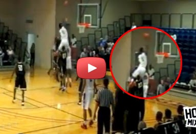 INSANE Dunk Head Over The Rim! Javonte Douglas with the putback Dunk! (VIDEO)