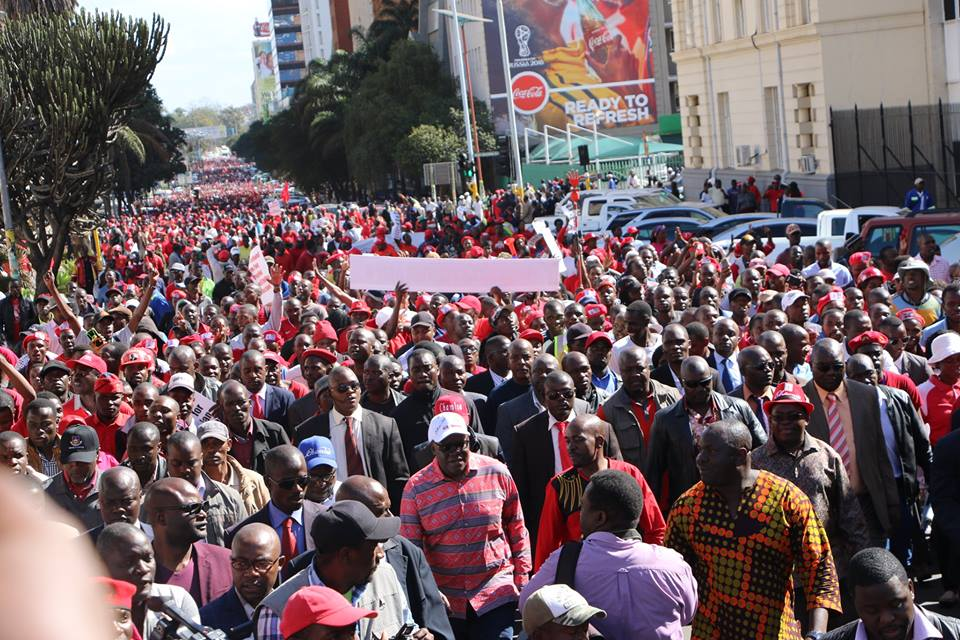 Zimbabwe Opposition Marches on Electoral Agency to Demand Reforms