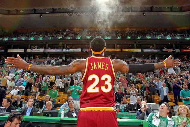 LeBron James con los Cleveland Cavs