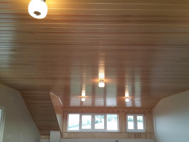 Süper rabıtalı çam tavan