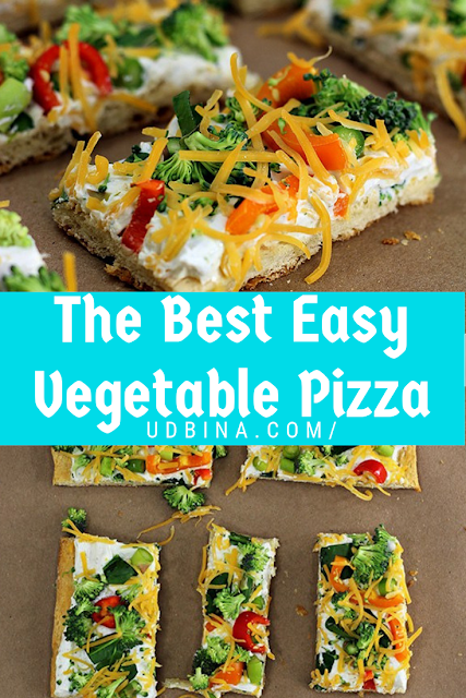 The Best Easy Vegetable Pizza