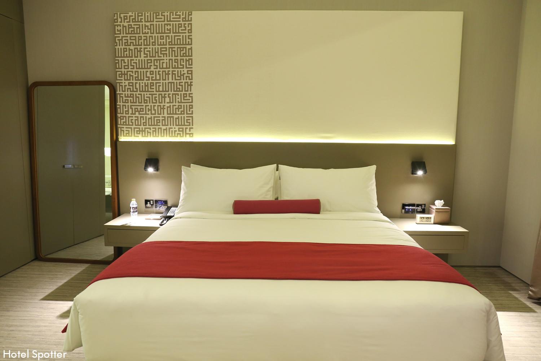 InterContinental Dubai Marina - recenzja hotelu - pokoj