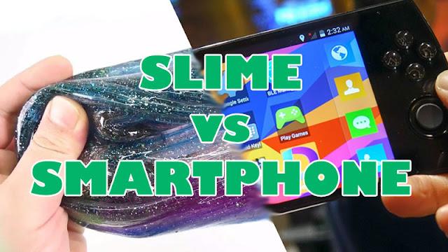 cara membuat slime, manfaat main slime, mengatasi kecanduan smartphone