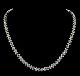 Model Kalung Emas Putih