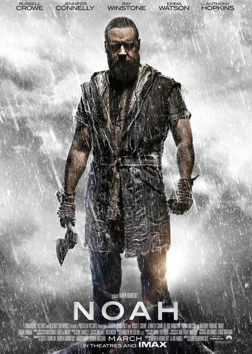 Poster nou pentru filmul Noah cu Russell Crowe