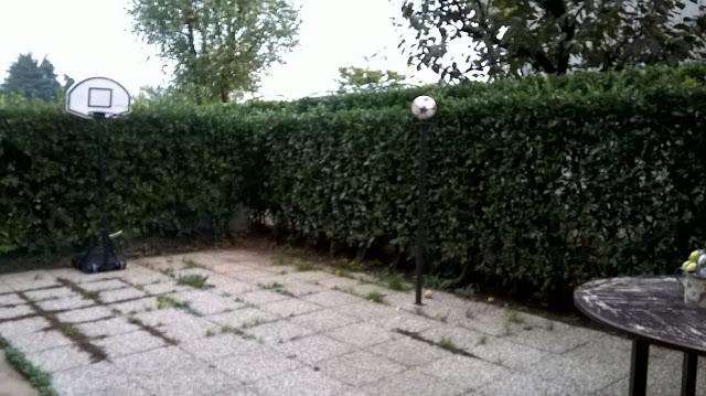 torre boldone  via Lombardia 21 giardino  del quadrilocale in vendita