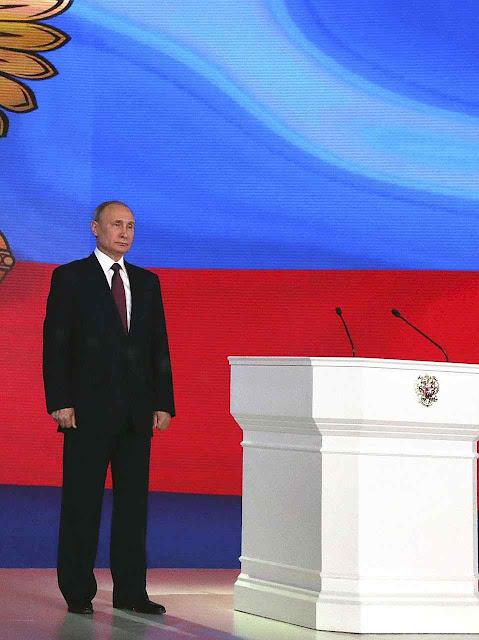Putin será reeleito presidente pela enésima vez, após supressão de opositores com alguma chance.