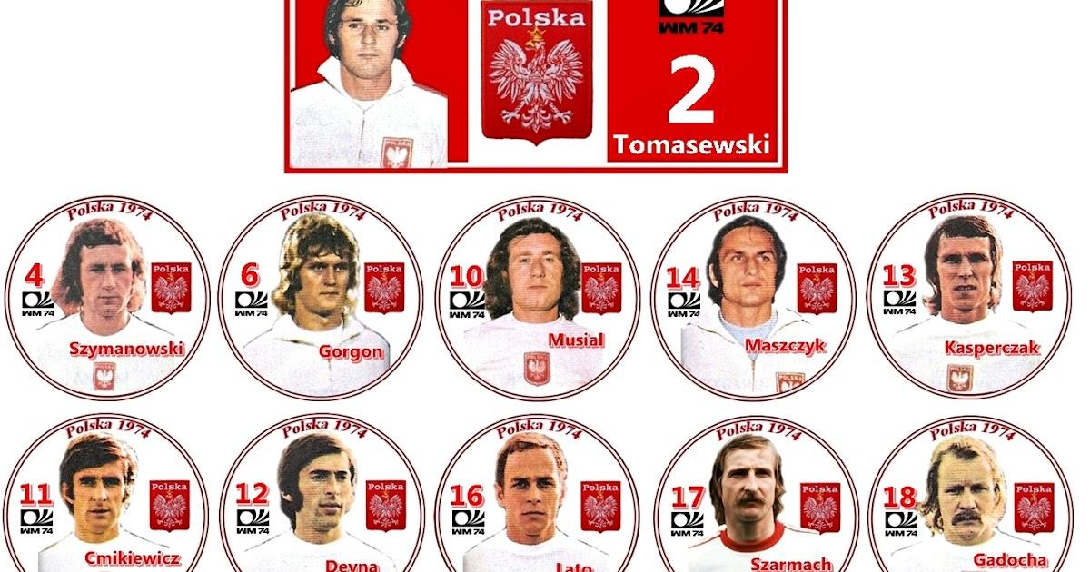 Botões para Sempre  A máquina seleção polonesa - Polska 1974 c84b0db0d6684