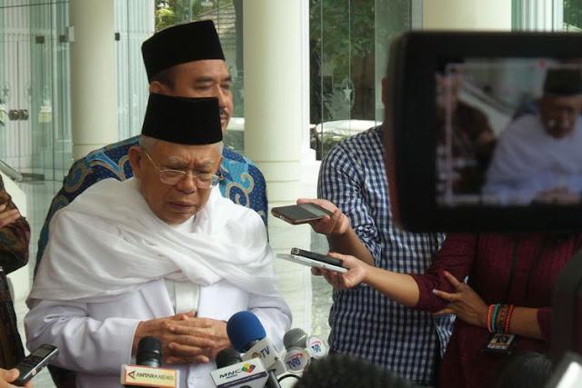 Jawab Tudingan Prabowo, KH Maruf Amin: Jokowi Melawan Neoliberalisme