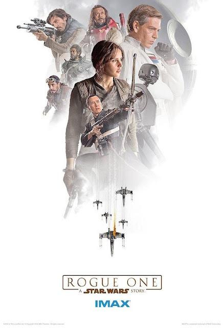 Cartel IMAX de Rogue One: A Star Wars Story