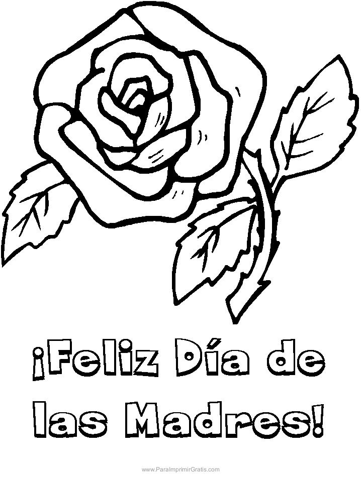 Dibujos Día De La Madre Para Imprimir Y Colorear Trato O Truco