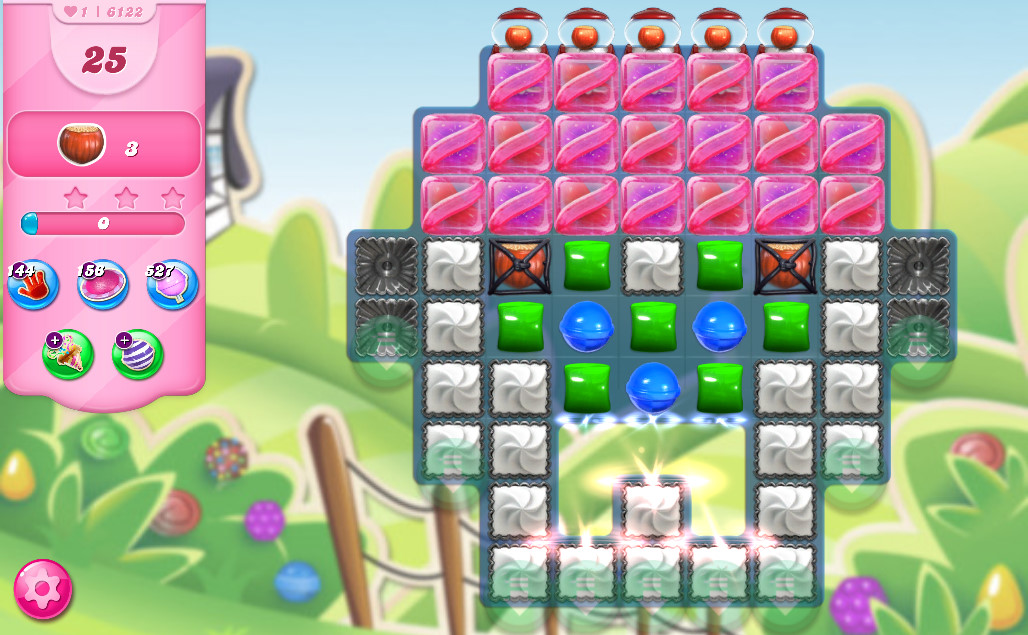 Candy Crush Saga level 6122