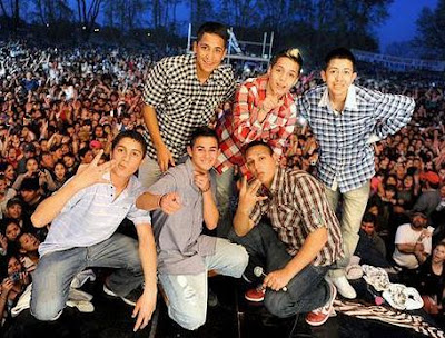 Foto de Los Wachiturros en concierto