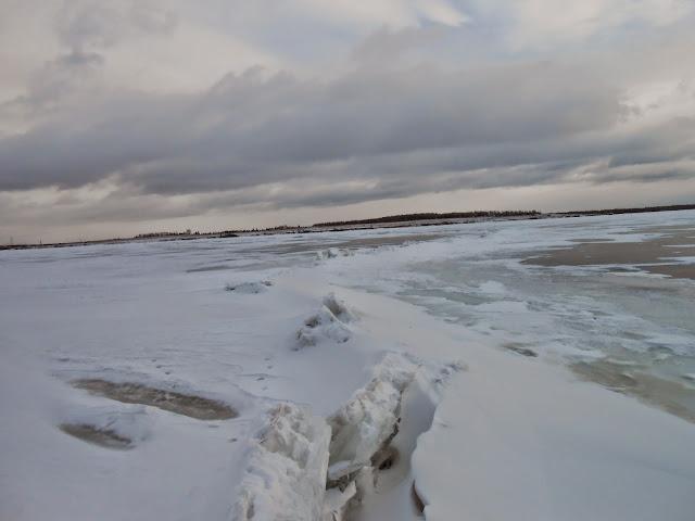 лёд на Иртяше