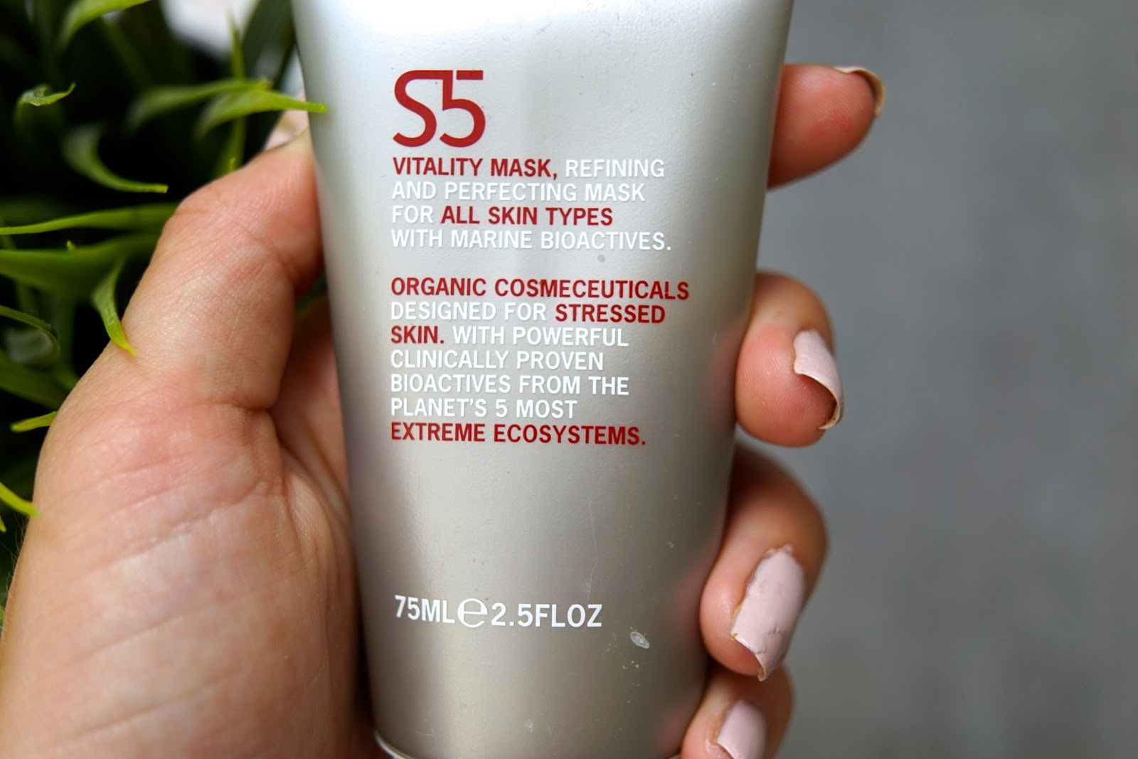 S5 Vitality Mask