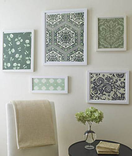 How Pictures Made From Fabric Scraps 2
