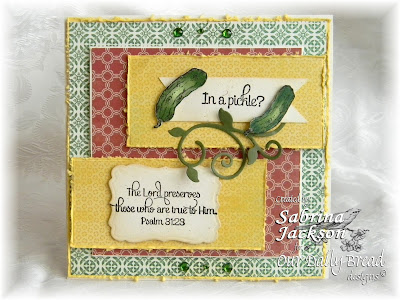 Our Daily Bread Designs, Pickles, Sabrina Jackson