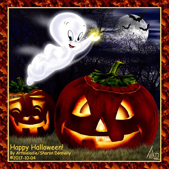 Halloween art by Artsieladie
