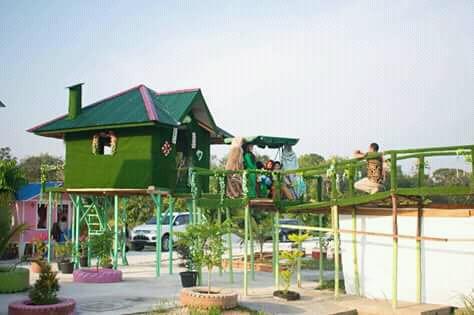 Rumah mini wisata Go green Kampar