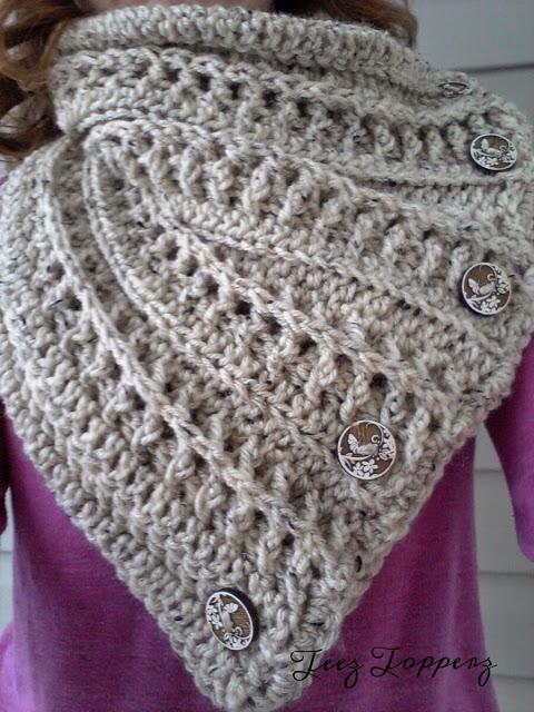 Free Crochet Patterns Club Free Crochet Cowl Pattern