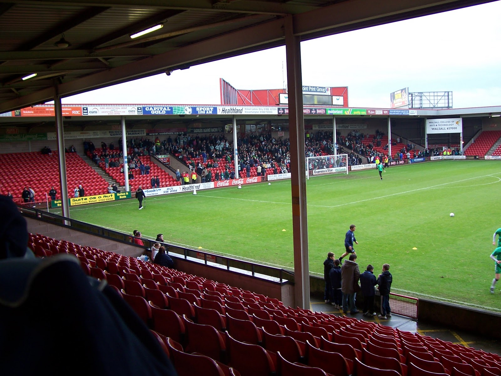 The Wycombe Wanderer Walsall The Bescot Stadium