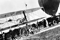 İlk Motorsuz Uçak ve Uçan Balon Fotoğrafı