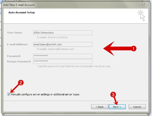 Cara Konfigurasi Email Email (Yahoo & Gmail) di Microsoft Outlook 2007
