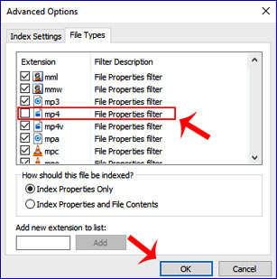 windows indexing options tips in hindi