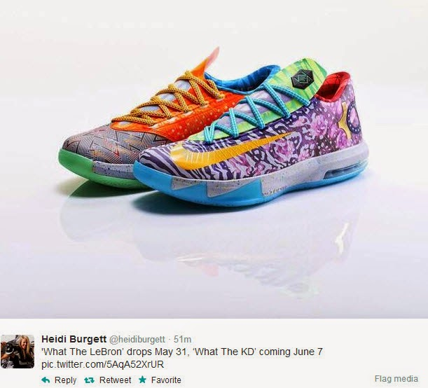 """Nike KD 6 """"What The KD"""" Release"""