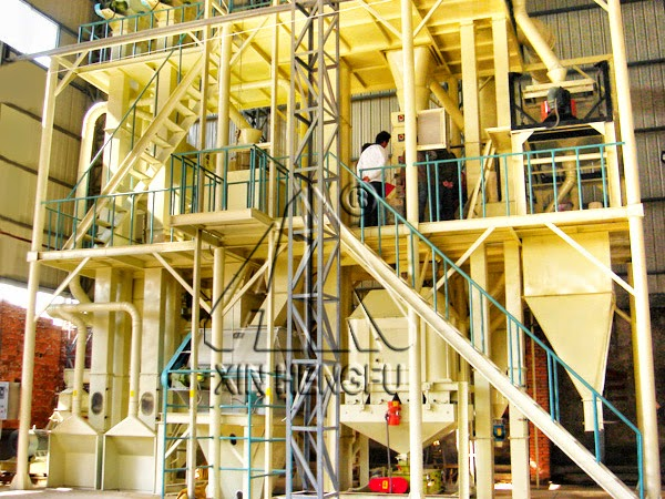 Animal Feed Machinery: The poultry feed manufacturing
