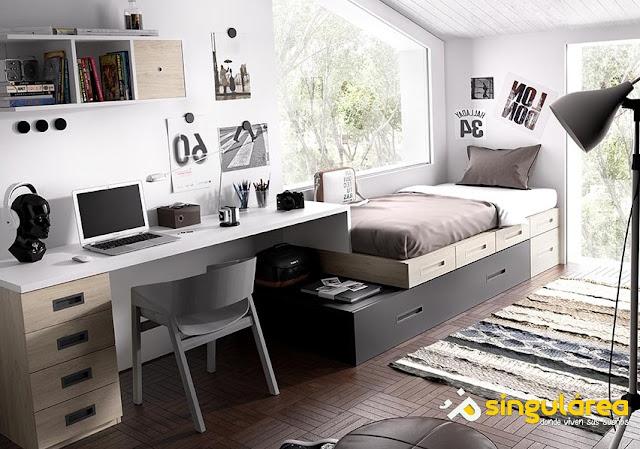 dormitorios juveniles modernos Valencia Puerto Sagunto