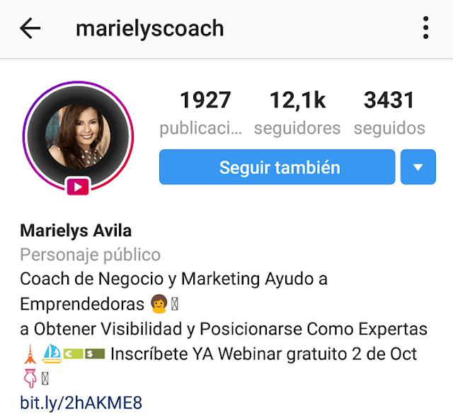 Ganar seguidores en Instagram por Marielys Avila
