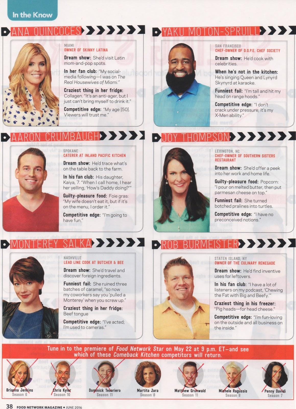 Melinda Loomis: Food Network Star - Cinematic Debut! (Week 1)