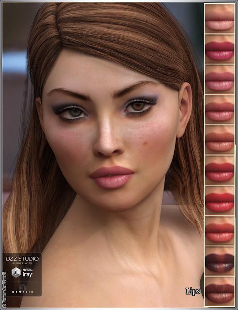 EJ Tania for Genesis 3 Female
