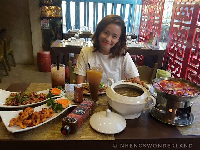 Templo: Modern Szechuan Restaurant in Manila